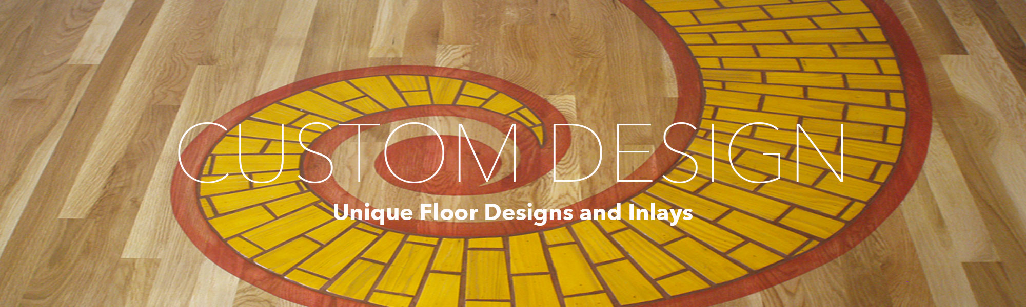 Unique Custom Flooring Designs, Inlays