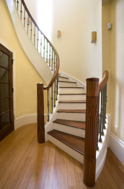 custom hardwood flooring stairs