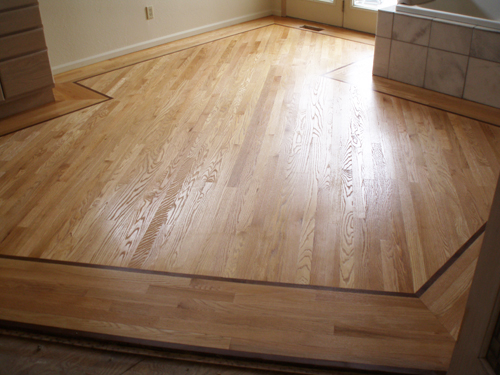 Feature Strips And Medallion Floor Designs Dc Hardwood