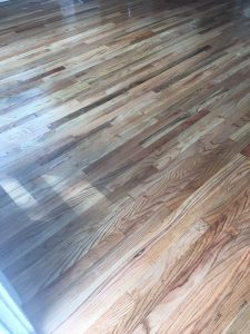 Oak hardwood floor Fort Collins Co
