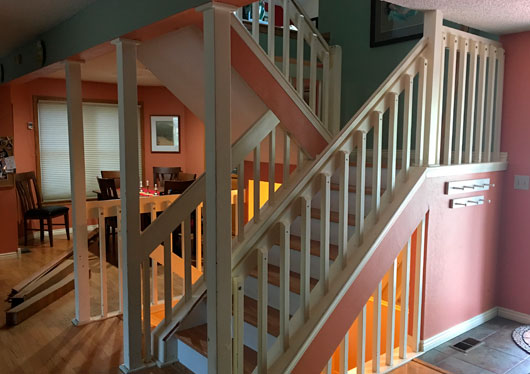 2 Recent Custom Staircase Projects